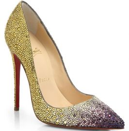 Pigalle Ombre Crystal Pumps by Christian Louboutin at Saks Fifth Avenue