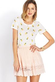 Pineapple tee at Forever 21