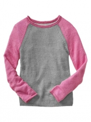 Pink Baseball Sweater at Gap
