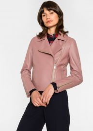 Pink Biker Jacket  at Paul Smith