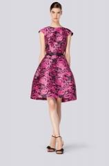 Pink Floral Dress at Carolina Herrera
