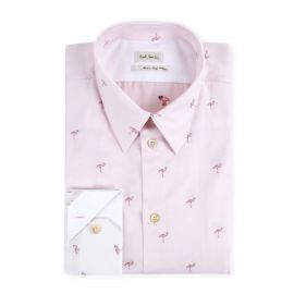 Pink Gradient Flamingo Shirt at Paul Smith