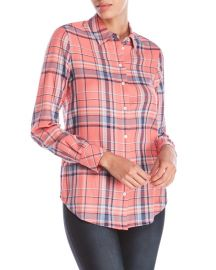 Pink Plaid Shirt by Elizabeth and James at Century 21