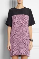Pink Silk Shift Dress by Richard Nicoll at Net A Porter