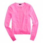 Pink cardigan like Marys at J. Crew
