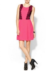 Pink lace dress by Collective Concepts at Piperlime