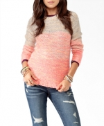 Pink ombre sweater at Forever 21 at Forever 21