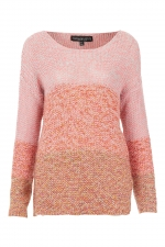 Pink ombre sweater at Topshop at Topshop