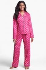 Pink polka dot pajamas by PJ Salvage at Nordstrom