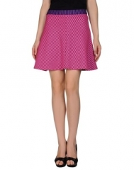 Pink striped skirt by House of Holland at Yoox