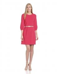 Pink three quarter shift dress by Eliza J at Amazon