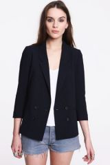 Pins and Needles Double Breasted Blazer at Urban Outfitters