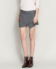 Pinstripe Skort at Zara