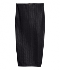Pinstripe skirt at H&M