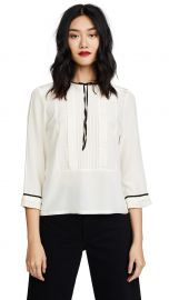 Pintuck Blouse at Shopbop