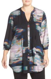 Pintuck Blouse by Melissa McCarthy Seven7 at Nordstrom