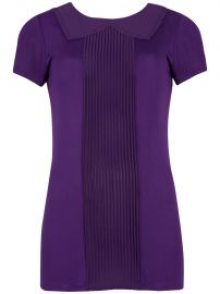 Pintuck Collar top at Ted Baker