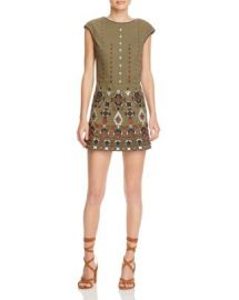 Piper Embroidered Skirted Romper at Bloomingdales
