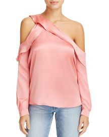 Piper Single Cold-Shoulder Blouse by Parker at Bloomingdales
