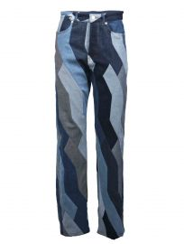 Pisco Patchwork Boyfriend Jeans by Dries Van Noten   at Mytheresa