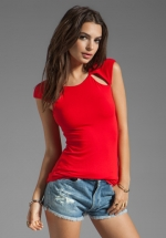 Pit Stop Top by Bailey 44 in red at Revolve
