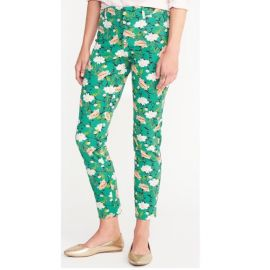 Pixie floral Greenwich pants at Old Navy