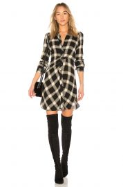Plaid Button Down Dress by Derek Lam 10 Crosby at Revolve