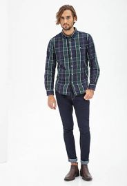 Plaid Shirt at 21 Men