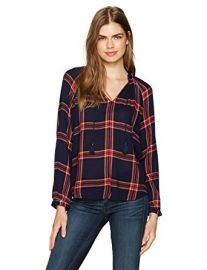 Plaid Shirt in Navy Multi at Amazon