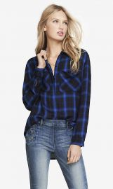 Plaid shirt at Express