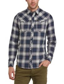 Plaid shirt by G star  at Amazon
