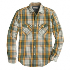 Plaid shirt by Wallace and Barnes at J. Crew
