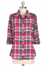Plaid shirt from Modcloth at Modcloth