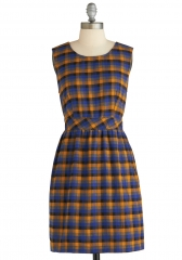 Plaid to Help Dress at ModCloth