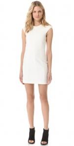 Plain white dress at Shopbop