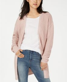 Planet Gold Lace Up Open Front Cardigan at Macys