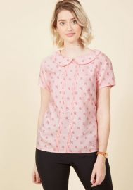 Play Tell Top in Umbrellas at ModCloth