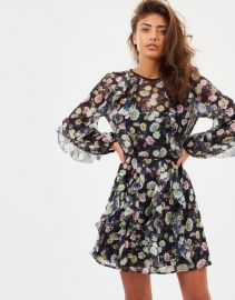 Playful LS Mini Dress by Talulah at The Iconic