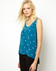 Playpal tank by Antipodium at Asos