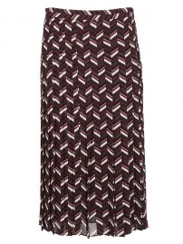 Pleated Mid Length Skirt by Michael Kors at Italist