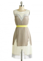 Pleated dress at Modcloth at Modcloth
