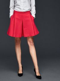 Pleated skirt at Gap