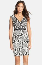 Plenty by Tracy Reese Floral Jacquard Dress at Nordstrom