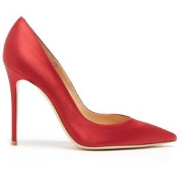 Point-toe Satin Pumps by Gianvito Rossi at Matches