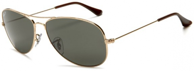 Polarised Aviator Sunglasses by Ray Ban at Amazon