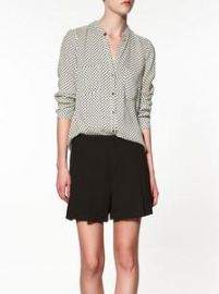Polka Dot Blouse at Zara