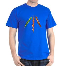 Polka Dot Lightning Shirt at Cafepress