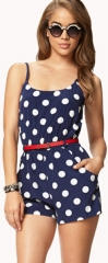 Polka Dot Picnic Romper at Forever 21