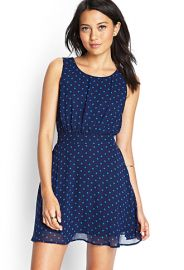 Polka dot dress at Forever 21