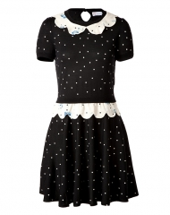 Polka dot dress by RED Valentino at Stylebop